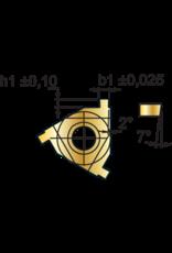 Phantom Borgringwisselplaat 16IR - 1,3 mm - inwendig