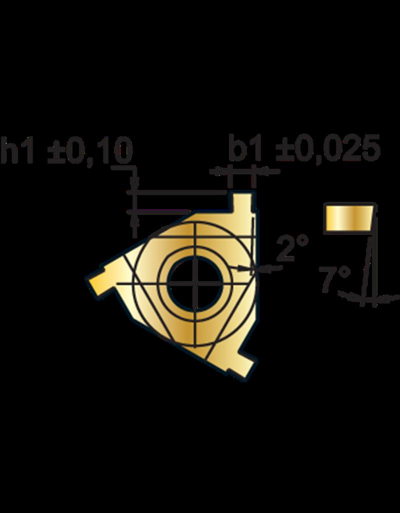 Phantom Borgringwisselplaat 16IR - 2,15 mm - inwendig