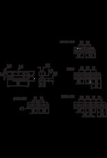 Phantom Geharde grondbekken voor 160 mm Bison 3-klauwplaten