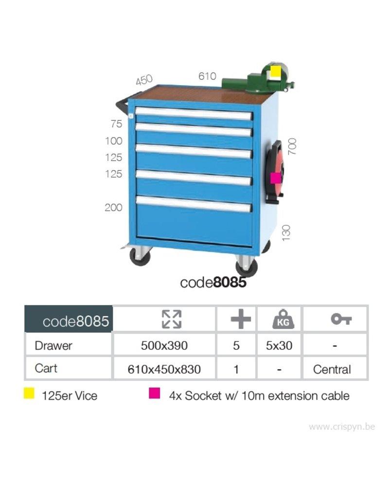 Kocel Gereedschapswagen BL 5D 600x450x850 T
