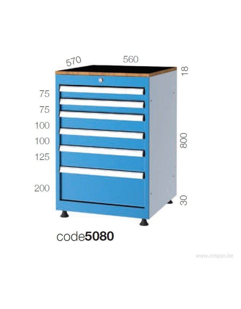 Kocel Ladenkast BL 6D 560x570x850 C