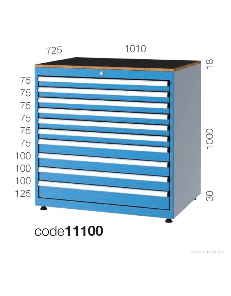 Kocel Ladenkast 10 Laden 1010x725x1000 C