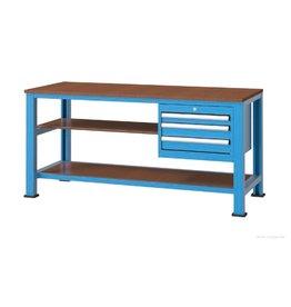 Kocel Werktafel met kleine ladenkast 1700x650x950