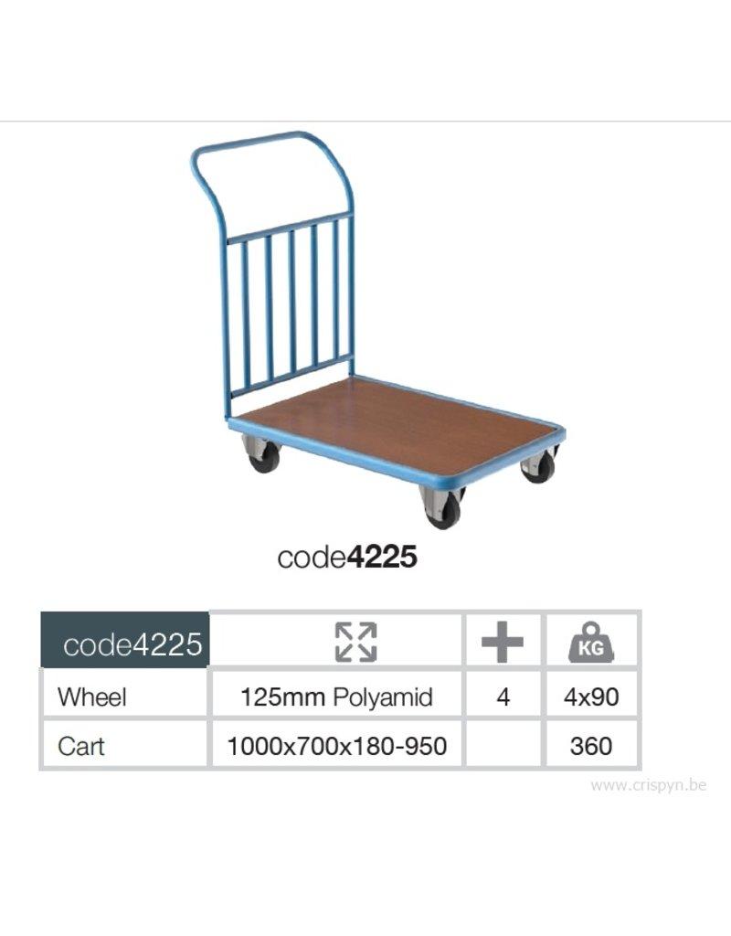Kocel magazijnwagen 1000x700