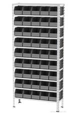 Kocel Gegalvaniseerde bakkenkast 930x310x2000