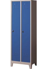 Diverse Lockerkast K6032 BL 600x400x1850 2PL