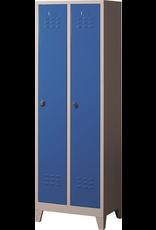 Kocel Lockerkast K6032 BL 600x400x1850 2PL