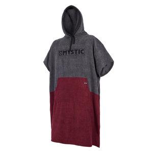 Mystic Mystic Poncho Bordeaux red