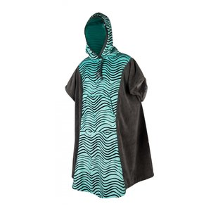 Mystic Mystic poncho WOMEN mint grey