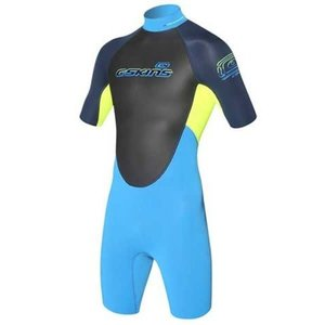 C-skins C-skins element 3/2 mm shorty wetsuit navy/yellow