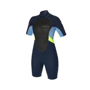 C-skins Element women shorty wetsuit - ink blue