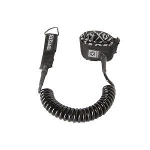 Mystic Mystic coiled leash 8ft 900 black
