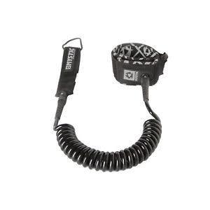 Mystic Mystic coiled leash 10ft 900 black