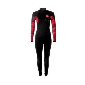 Brunotti Brunotti defence women wetsuit 5/3mm (black/coral)
