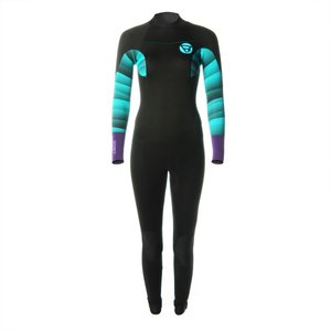 Brunotti Brunotti defence women wetsuit 5/3 backzip  black/mint