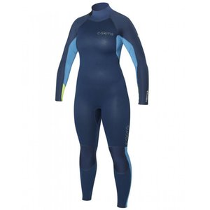 C-skins Surflite wetsuit 5x4x3 women blue
