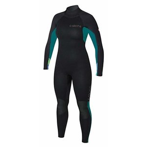 C-skins Surflite wetsuit women 4X3 black/tropical