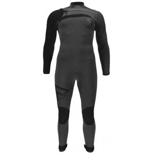 Brunotti Brunotti Bravo 5/3 mm front zip wetsuit men Black
