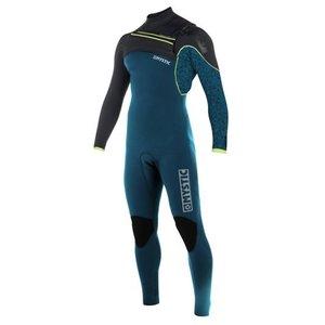Mystic Drip Fullsuit 5/4 mm Frontzip wetsuit 2018 teal