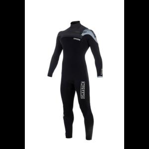 Mystic Drip Fullsuit 5/3 mm Frontzip wetsuit 2018 black/grey