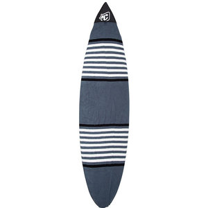 "Creatures Boardsox Shortboard fit 5'8"" grey/white stripes"