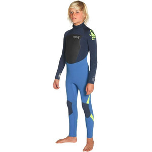 C-skins C-skins Legend junior 5/4mm wetsuit blue/yellow