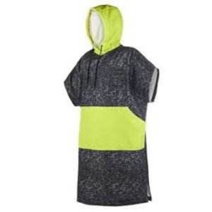 Mystic MysticPoncho Allover Black/Lime