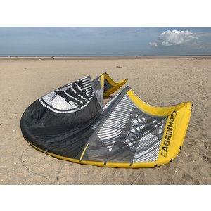 Cabrinha Tweedehands kite Cabrinha Moto 12M (grey/yellow)