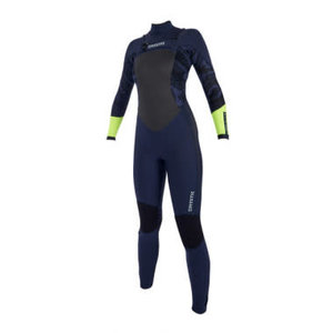 Mystic Mystic Diva wetsuit 5/3mm double fzip Navy / Lime