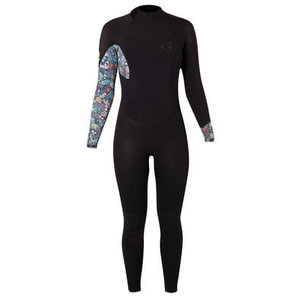 Brunotti Glow Women FZ 5/4 mm Women Wetsuits Black