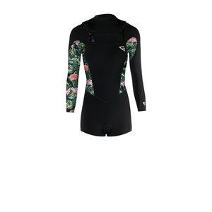 Brunotti Brunotti Glow Women Longarm Shorty wetsuit 2 Frontzip
