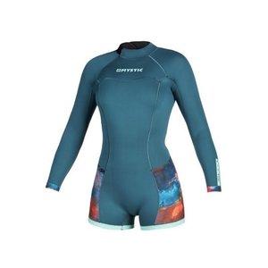 Mystic Mystic Diva longarm shorty wetsuit 2 Backzip