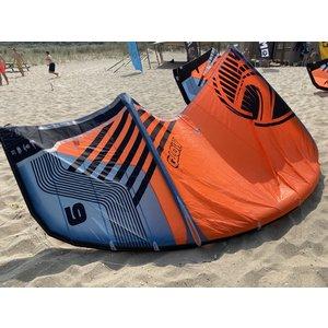 Cabrinha Tweedehands 9m2 Cabrinha Moto 2020 C1 blue-grey/orange