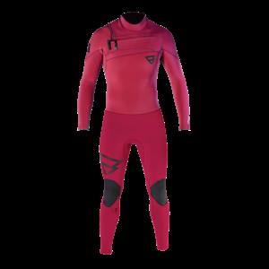 Brunotti Brunotti Gravity wetsuit 3/2  Frontzip  Red
