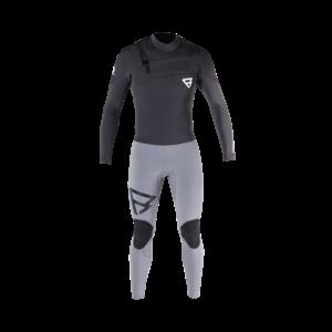 Brunotti Brunotti Gravity wetsuit 5/3 Frontzip Grey