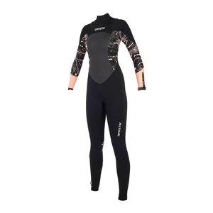 Mystic Mystic Diva wetsuit 5/3 Frontzip - Black/Pink 2019