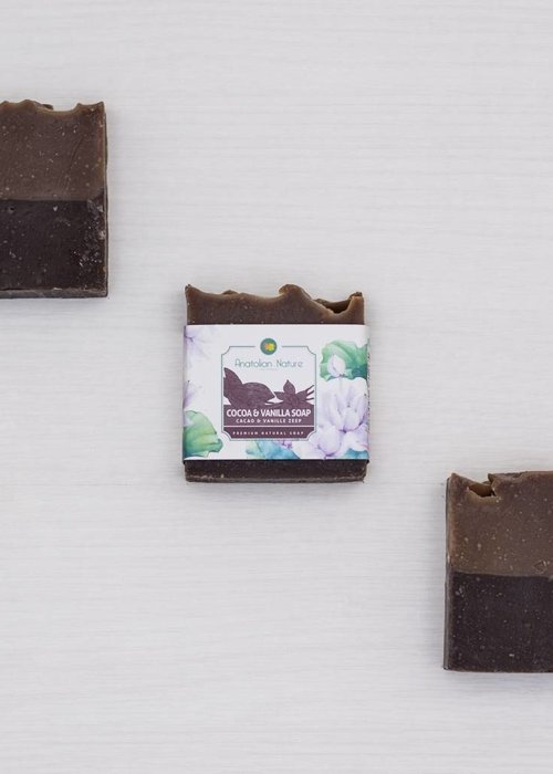 Natural Cinnamon Soap - Anatolian Nature