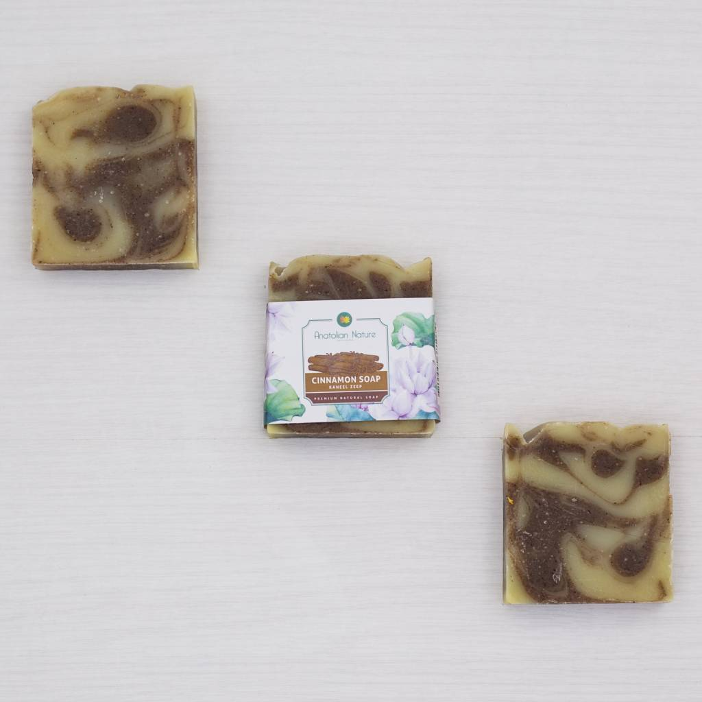 Natural Cinnamon Soap