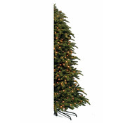 Abies Nordmann Half Wall LED - Groen - Triumph Tree kunstkerstboom