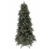 Abies Nordmann DELUXE Slim (smal) LED - Blauw - Triumph Tree kunstkerstboom
