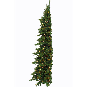 Emerald Pine LED Half Wall - Groen - Triumph Tree kunstkerstboom