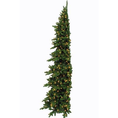 Emerald Pine LED Half Wall - Groen - Triumph Tree kunstkerstboom