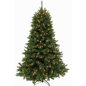 Forest Frosted Pine LED - Groen - Triumph Tree kunstkerstboom