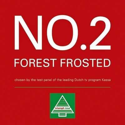 Forest Frosted Pine Newgrowth LED - Blauw - Triumph Tree kunstkerstboom