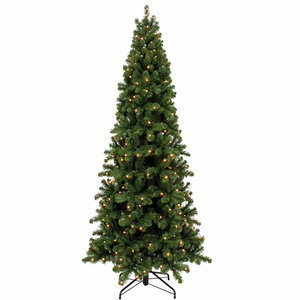Pencil Pine LED - Groen - Triumph Tree kunstkerstboom