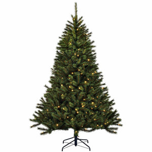 Kingston Pine Deluxe LED - Groen - BlackBox kunstkerstboom
