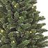 Frosted Fraser Tree in pot, verlichting op batterij, Groen