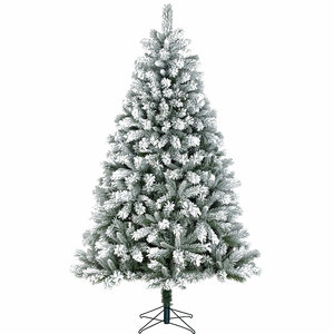 Chandler - Groen Frosted - BlackBox kunstkerstboom