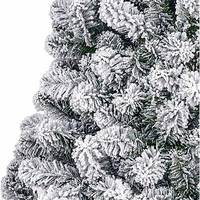 Millington Frosted - Groen besneeuwd - BlackBox kunstkerstboom