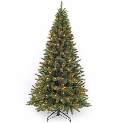 Forest Frosted Pine Slim (smal) LED - Groen - Triumph Tree kunstkerstboom